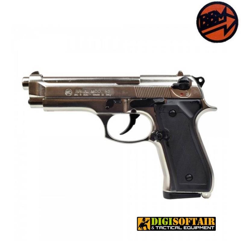 blank gun 92 BRUNI 9mm bicolor