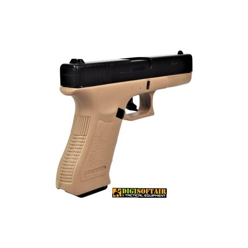 BRUNI GAP 17 blank gun cal 8 black/tan
