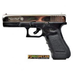 BRUNI GAP 17  blank gun cal 9 silver slide