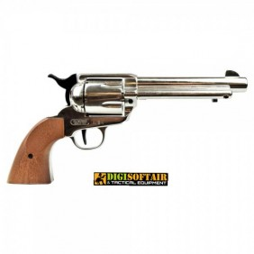 Bruni Revolver top fring Nikel cal 380 pistola a salve
