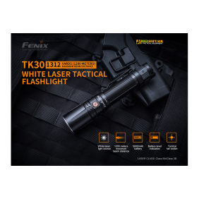 Fenix TK30 White Laser Flashlight