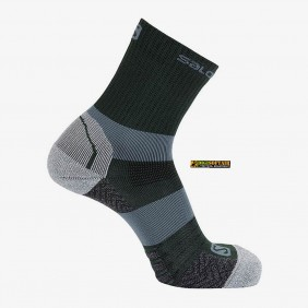 QUEST MID salomon GREEN GABLES tecnical socks LC1336800