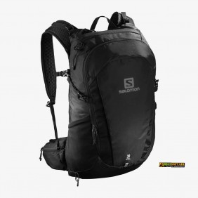 Black backpack TRAILBLAZER 30 Salomon LC1048200