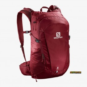 Biking red backpack TRAILBLAZER 30 Salomon LC1083900