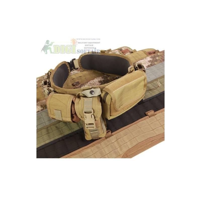 HSGI Sure grip Padded belt Coyote Brown