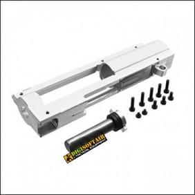 CNC gearbox upper split V2 - QSC Retroarms 7576