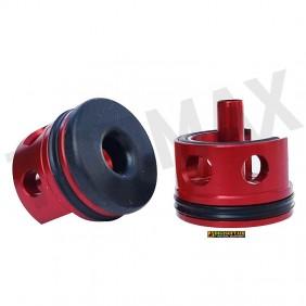Top Max ERGAL cylinder head with PAD BLACK (TCMMV2B)