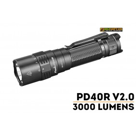 Fenix PD40R V2.0 Flashlight - 3000 Lumens