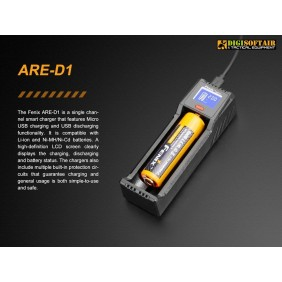 Carica batterie ARE D1 Fenix