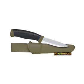 MORA Companion MG (S) stainless steel Olive green