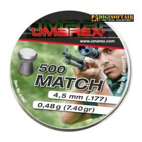 Umarex Match pellets cal 4.5mm 0.48gr 500pcs