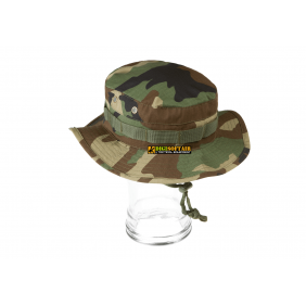 Cappello Boonie hat Woodland Invader gear