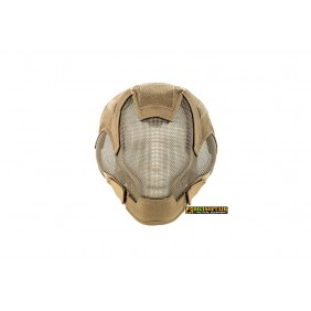 Full Face Steel mash Mask Tan M9607T