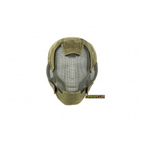 Full Face Steel mash Mask MK II Green M9607G