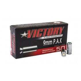 Blank ammunitions Victory 9MM