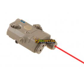 AN/PEQ 15 La 5 red Laser dark earth FMA