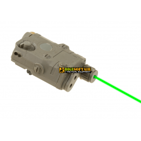 AN/PEQ 15 La5 Green Laser dark earth FMA