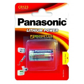 BATTERIA CR123 PANASONIC LITHIUM POWER