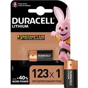 BATTERIA CR123 Duracell LITHIUM