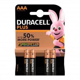 BATTERY AAA PLUS POWER DURACELL