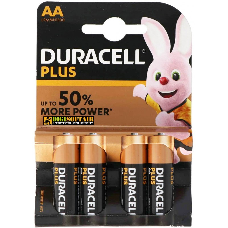 BATTERY AA PLUS POWER DURACELL