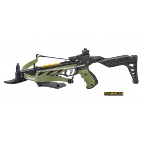 Man Kung alligator green crossbow with stock 80lb R30010