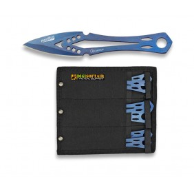 set 6 Albainox 32295 throwing knives