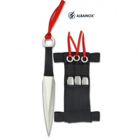 set 3 Albainox 31801 throwing knives