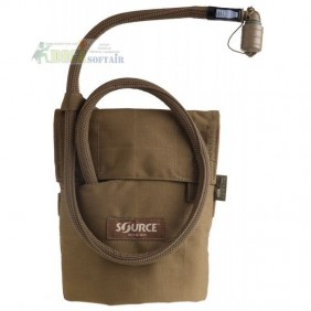 Kangaroo coyote brown 1L Collapsible Canteen with Pouch