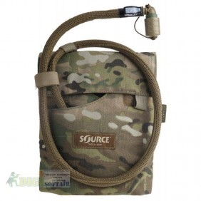 Kangaroo Multicam 1L Collapsible Canteen with Pouch