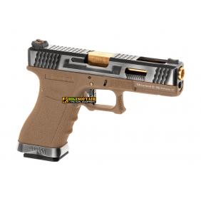 G-Force 17 SV Gold Barrel Metal Version GBB