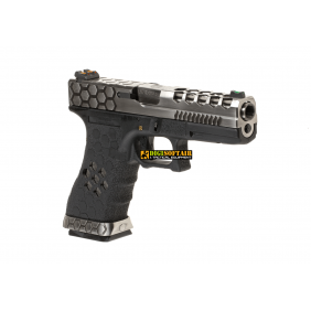 WE VX0100 Hex-Cut Metal Version GBB G17