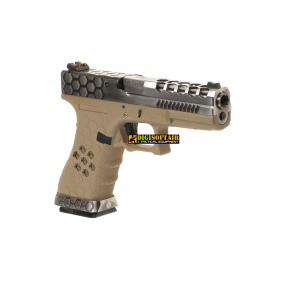 WE VX0110 Hex-Cut Metal Version G17 GBB blowback
