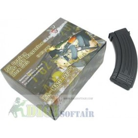 King Arms Box 5 caricatori AK47 monofilari 110bb