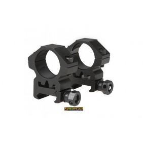Two-part 25mm optics mount for RIS rail (low) Theta optics