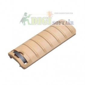 King Arms copri rail 6 Ribs TAN