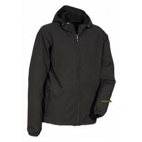 Vannas softshell Cofra black, waterproof and windproof