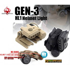 Gen III Helmet Light Night Evolution