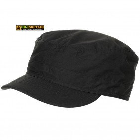 US BDU Field Cap, Rip Stop, black