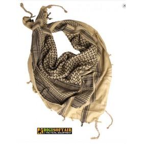 khaki / black SHEMAGH SCARF Miltec 12611000