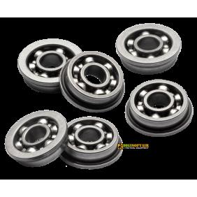 FPS Boccole in acciaio da 8 mm cuscinettate aperte B8CA+