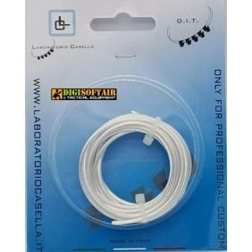 Laboratory Wire Tech cable, copper and 98.8% silver