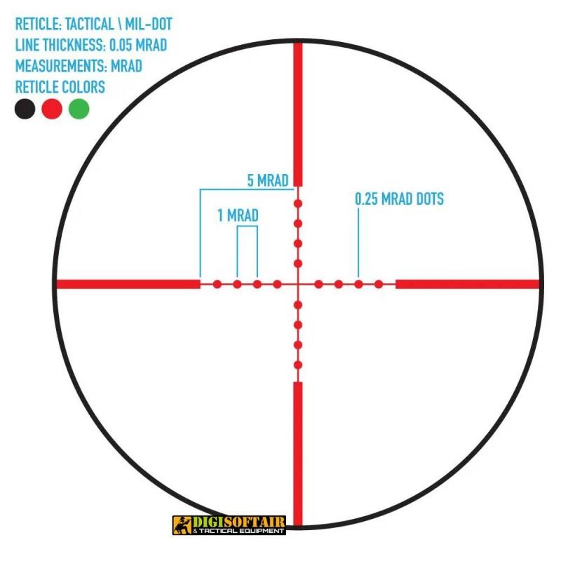 Firefield Tactical 4-16x42AO IR Riflescope F13044