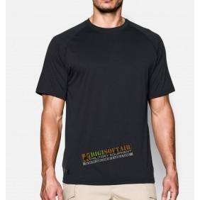 Under Armour Men's UA Tactical Tech Short Sleeve T-Shirt Black