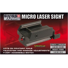 SWISS ARMS micro laser for picatinny rail