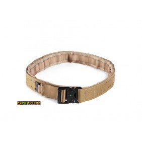 Nerg Belt with quick release and double closure  coyote brown