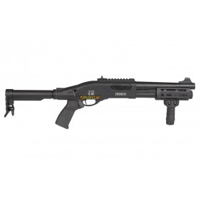 Secutor Velites Ferrum S III Black Spring Shotgun Full metal