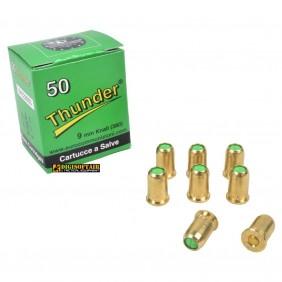Blank ammunition caliber 380 Thunder