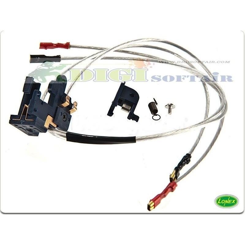 Lonex Cablaggio V2 Anteriore completo di switch per serie m4 m16