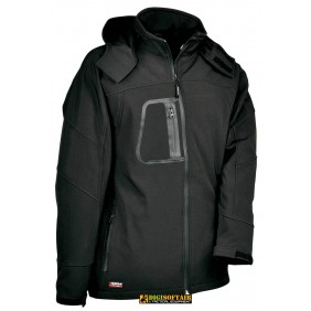 Sweden softshell Cofra Black color, waterproof and windproof